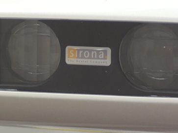 center of sirona led dental light