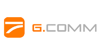 logo gcomm dental light