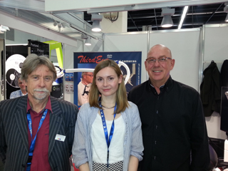 our team at ids in cologne 2015