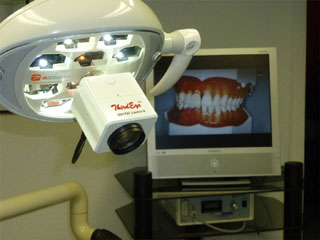 thirdeye hd on gcomm led dental light